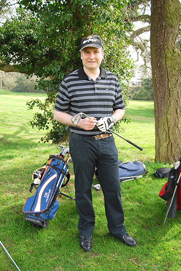 Andrew Hancock the golfer